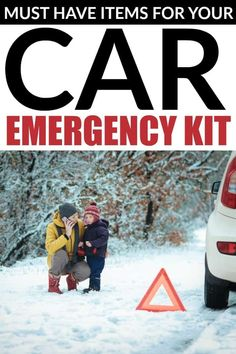 The weather isn't always predictable and let's face it, accidents happen and sometimes vehicles can break down. Avoid getting caught unprepared with a well-stocked emergency kit in your car. Parenting Teens, Good Parenting, Parenting Hacks, Family Safety, Peaceful Parenting, Disaster Preparedness, Must Have Items, Weather, Mom Hacks