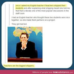 """without googling it.. from reading between the lines i take it """"shipping"""" means kinda... matchmaking students?"""