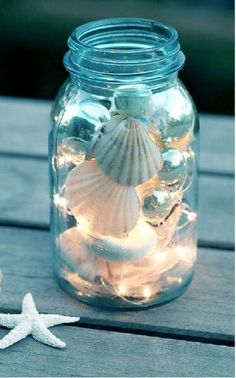 Love these can get fairy lights from knotandnestdesigns.come for $3.99 photo from herecomestheguide
