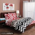 Chevron 300 Thread Count Cotton Sateen Duvet Cover Set | Overstock.com Shopping - The Best Deals on Duvet Covers