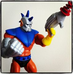 This is one of my favourite Masters Of The Universe Classics. You can call him STRONG-OR (also known as Strong Arm)