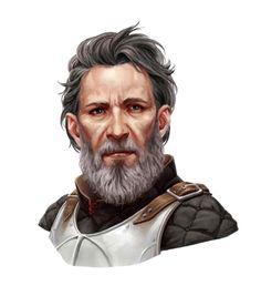 Human Middle Aged Archaeologist Bard Portrait - Pathfinder PFRPG DND D&D d20 fantasy