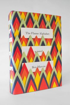 The Flame Alphabet by Ben Marcus, cover design by Peter Mendelsund. Best Book Covers, Beautiful Book Covers, Cover Books, Up Book, Book Art, Design Editorial, Buch Design, Design Design, Interior Design