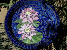 Mosaic Water lilies by Elegantly Toasted, via Flickr