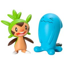 "Pokemon Figure 2 Pack - Chespin vs. Wobbuffet - TOMY - Toys ""R"" Us"