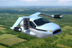 De TF-X: de eerste echte vliegende auto komt er aan!