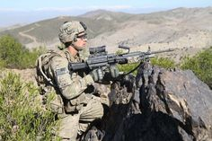 Rakkasans from the 101st Airborne Division (Air Assault) combat indirect fire threat in Afghanistan - via http://www.army.mil