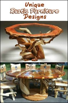Love having nature surround you? These might just be the perfect furniture for your home!