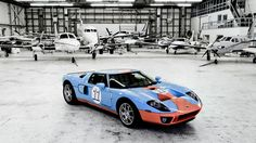 Ford GT. I may not be a Ford fan, but this car is a work of art.