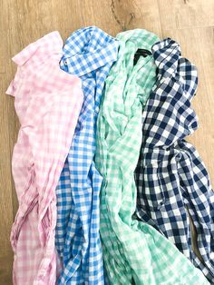 Gingham button downs, preppy, summer outfit ideas, Jcrew.
