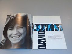 DAVID-CASSIDY-1972-US-CONCERT-TOUR-PROGRAM-AND-TICKET-PARTRIDGE-FAMILY-RARE