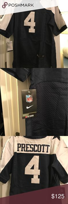 Dak Prescott Dallas Cowboys Authentic Jersey Color Rush Cowboys Authentic Jersey w/ tags. These are close out jerseys from a store that did not make it. Need to move asap. Submit all offers. **I specialize in buying inventory close outs of companies that can longer stay in business. *** Nike Other