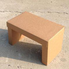 Cardboard bed table