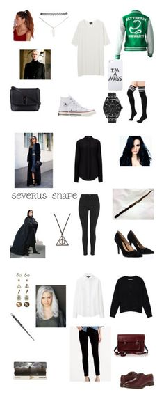 """Harry potter outfits"" by chaimae-megherbi on Polyvore featuring mode, Monki, Converse, ZALORA, Missguided, LAUREN MOSHI, Wet Seal, Nixon, Joseph et Topshop"
