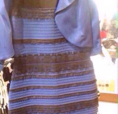 Black and blue? Or white and gold