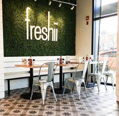 Freshii_Saskatoon_Decorative  Encaustic Floor Tile