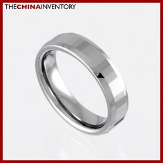 6MM SIZE 9 TUNGSTEN CARBIDE WEDDING BAND RING R0922