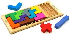 A giant Tetris-like game that will help teach basic concepts of geometry. Logic Games For Kids, Cube Games, Legos, Coding For Kids, Strategy Games, Help Teaching, Lego Friends, Educational Toys, Board Games