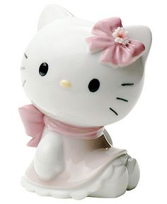 Nao by Lladro Collectible Figurine, Hello Kitty - Collectible Figurines - for the home - Macy's