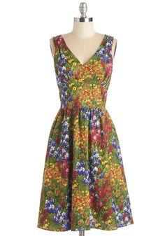 I Field Good Dress, #ModCloth