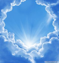 Beautiful Clouds and Sun | The Sky. Clouds, Sun, Seascape! Charm of Nature