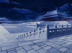 Epic Backgrounds, Episode Backgrounds, Chinese Landscape, Fantasy Landscape, Japanese Castle, Japanese Art, Seshomaru Y Rin, Anime Places, Chinese Architecture