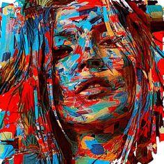 bristles brush by icolorama_one Kate Moss, Instagram Posts, Painting, Birthday, Art, Art Background, Painting Art, Birthdays, Kunst