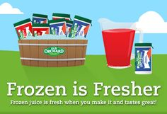 BOGO FREE Old Orchard Frozen Juice Coupon!