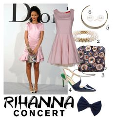 Rihanna Concert by kaylah2344 on Polyvore featuring polyvore, fashion, style and clothing