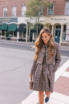 These are the 5 things we are most excited about with our September 2018 Gal Meets Glam Collection! We are so excited to introduce the new fall dresses, tweed separates, and petite sizes in this collection! Look Fashion, Autumn Fashion, Womens Fashion, Fashion Trends, Fashion 2018, Paris Fashion, Modest Dresses, Fall Dresses, Dresses 2016