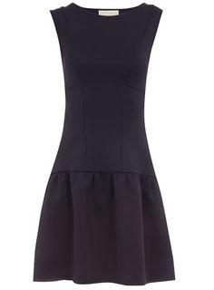 Ink drop waist dress