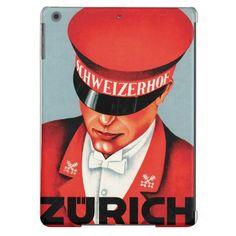 ビンテージ風 チューリッヒのベルボーイ。 #iPhoneケース #zazzle #スイス