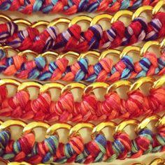 World of Tashii woven chain bracelets