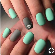Hey there lovers of nail art! In this post we are going to share with you some Magnificent Nail Art Designs that are going to catch your eye and that you will want to copy for sure. Nail art is gaining more… Read Short Nail Designs, Nail Designs Spring, Nail Art Designs, Cute Nail Art, Cute Nails, Pretty Nails, Spring Nail Art, Spring Nails, Shellac Nail Designs