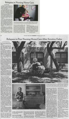 In today's The New York Times: Tackling elder abuse and elder neglect violations in nursing homes in 46 states, including in #Bakersfield, Calif. The article highlights a Chain | Cohn | Stiles case and includes a quote from the #lawfirm's own #attorney Neil Gehlawat. Read the entire article here.   #KernCounty #elderabuse #elderneglect #elderlaw #elderabuselaw #elderneglectlaw #nursinghome