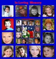 Sandy Hook elementary school angels my daughter was grace I'm never saying goodbye