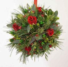 The Domestic Curator: Traditional Christmas Kissing Balls