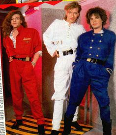 Alphaville displaying the best of New Wave fashion