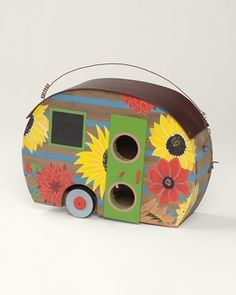 Trailer birdhouse at Coldwater Creek Compliments of my friend Trina!