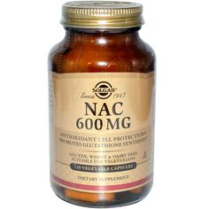 Solgar, Nac, 600 Mg, 120 Veggie Caps, Diet Suplements 蛇 Supplements For Hair Loss, Organic Supplements, Great Lakes Gelatin, Mastic Gum, Vitamins For Kids, Sports Food, Grape Seed Extract, Natural Herbs, Athletic