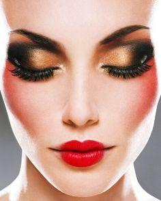 bronzed smokey eyes    Keep the Glamour   BeStayBeautiful