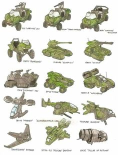 All Halo Vehicles Halo 3, Halo Game, Concept Ships, Concept Art, Game Concept, Unsc Halo, Cyberpunk, Halo Ships, Halo Drawings