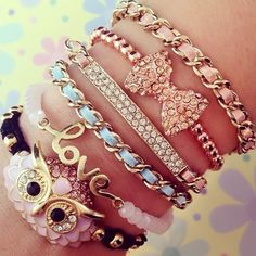 Love Owls Arm Candy <3