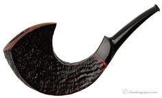 J Sandblasted Horn Pipes at Smoking Pipes .com
