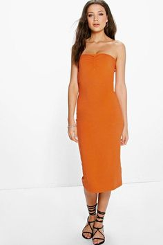 Mischa Jersey Boobtube Midi Length Dress