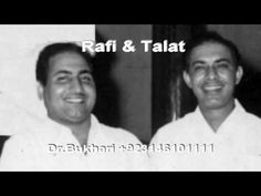 Talat & Rafi sing Together Ghum ki Andheri Raat (with Extra Stanza) Film...