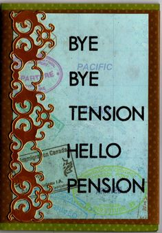 Humorous retirement quotes look back with pride free retirement rtr card from work m4hsunfo