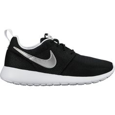 Nike Roshe One - Boys  Grade School - Running - Shoes -  Black White White Metallic Silver-sku 99728007   Pinterest   Nike roshe,  Roshe and White white 1f081993bf
