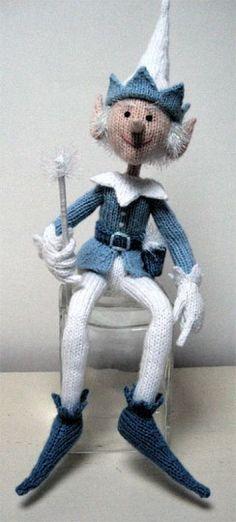 Ravelry: Jack Frost pattern by Alan Dart Knitted Dolls, Crochet Dolls, Knitting Projects, Crochet Projects, Knitting Toys, Christmas Knitting Patterns, Crochet Patterns, Alan Dart, Marionette