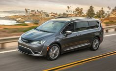 The 2017 Pacifica is the top minivan on the market!